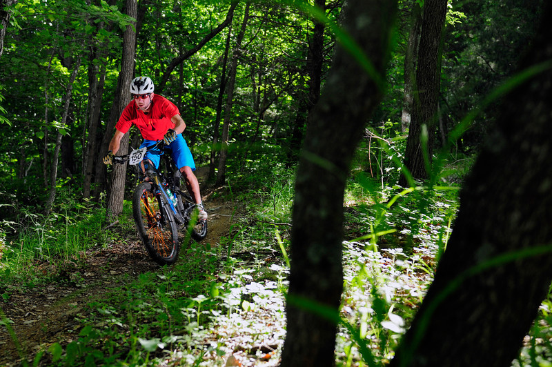 Chris Scott as the Enduro Ambassador for Shenandoah Mountain Touring