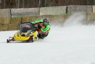 Bonnechere snowmobile racing