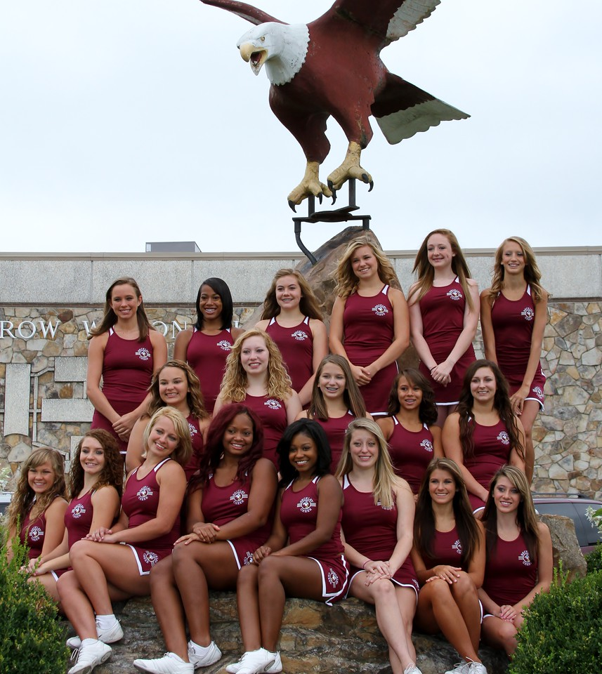 WWHS VARSITY CHEERLEADERS 2012-2013