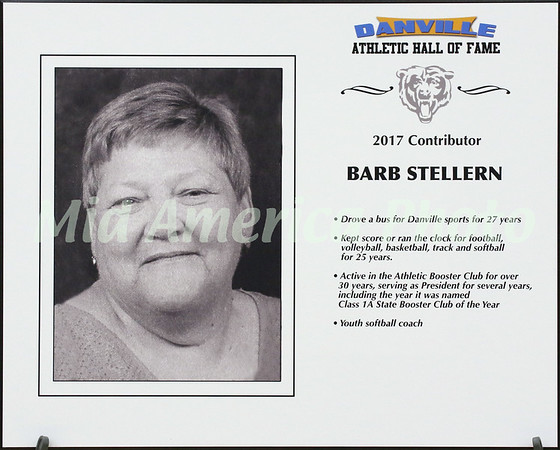 Barb Stellern - 2017 Athletic Hall Of Fame inductee