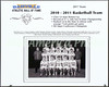 2010-2011 Boys Basketball Team - 2017 Athletic Hall Of Fame inductee