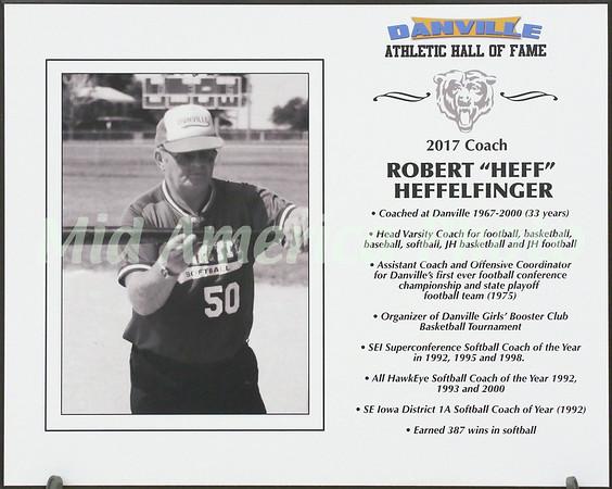 "Robert ""Heff"" Heffelfinger - 2017 Athletic Hall Of Fame inductee"
