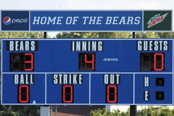 third inning score