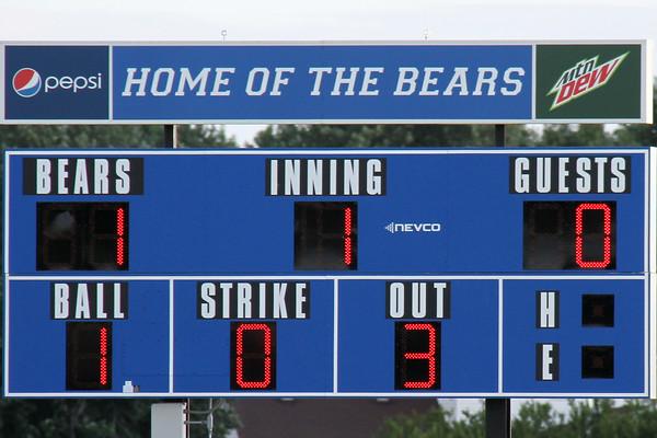 first inning score