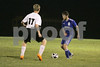 Danville/New London's Bryon McCannon (#8) and Central Lee's Brice Fowler (#17)