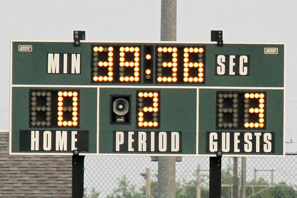 30 seconds into the second half score