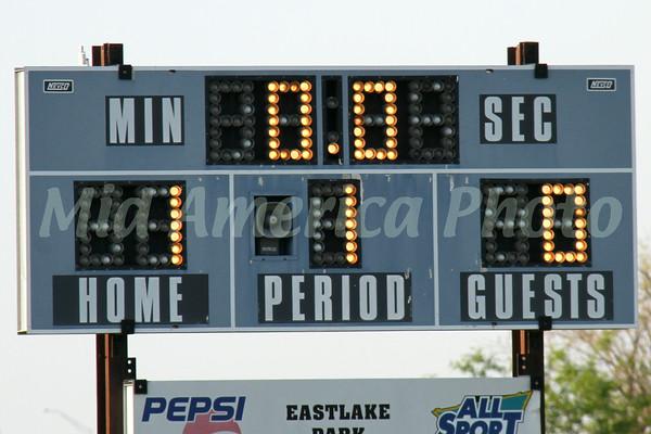 first half score