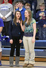 Danville's Landry Carr and Danielle Haeffner sing the National Anthem.