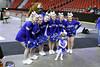 cheerleaders & mascot & miss Martin