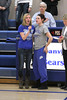 Danville's Aly Doran and Allison Becker sing the National Anthem.