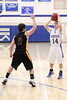 Danville's Shae Seils (#14) and Central Lee's Kyler Hugg (#2)