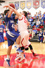 Danville's Connor Hoelzen (#42) and Cardinal's Nathan Yeager (#50)