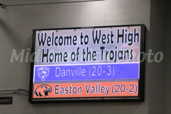 Danville and Easton Valley's season record