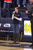 4th Grader Camryn Klossing singing the National Anthem.