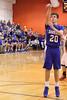 Danville's Josh Deggendorf (#20) and the Danville bench