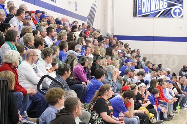 Danville fans wait in anticipation.