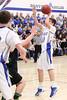 Danville's Kaleb Haeffner (#43) and Josh Deggendorf (#20)