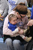 Close-up of one of Danville's little fans