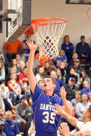 Danville's Kaleb Haeffner (#35)