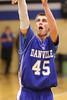 Danville's Hunter Peebler (#45)