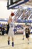 Danville's Kaleb Haeffner (#35) and Notre Dame's Logan Hoschek (#13)