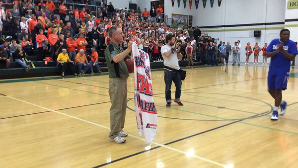 State qualifier banner celebration