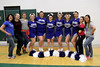 The Danville cheerleading squad: Coach Eva Carr, Allison Moore, Ashley Gorrell, Brittany Pfadenhauer, Katy Roby, Shayla Cousins, Jenna Williams, Bailey Leathers, Rylee Molter, Cassie Callaway, Coach Ashley Johnson