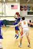 Danville's Dillon Sanchez (#21) and Easton Valley's Blake Bormann (#5)