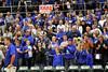 """The """"sea of blue"""" celebrates the Danville boys' win."""