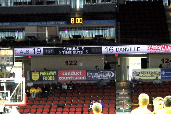 first quarter score