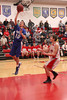 Danville's Michael Soukup (#10) and Cardinal's Charlie Rachford (#22)