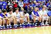 Danville's Kolton Jackson (#30), Mason Lorber (#12), Dillon Sanchez (#21), Mitch Martin (#44), and Kaleb Haeffner (#35)