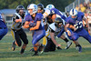 Danville's Wade Samples (#3), Drake Fox (#65), JD Stirn (#52) and Central Lee's Jared Brisby (#11) and Connor Hagameier (#71)