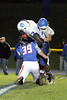 Danville's Rayshawn Baylark (#23) and BGM's Jarred Santosus (#39) and Cooper Puls (#78)