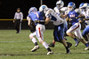 BGM's Jayce Knight (#7), Eric Weiss (#24) and Danville's Gage Jarrett (#75)
