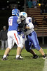 BGM's Jacob Doty (#50) and Danville's Cody Adler (#63)