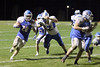 BGM's Colton Massengale (#28) and Danville's J.D. Stirn (#52)