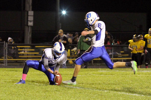Danville's Bryce Carr (#12) and Mason Lorber (#8)