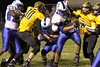 Danville's Rayshawn Baylark (#23), Grant Samples (#6), Zach Morgan (#53) and Lone Tree's Brock Smith (#10) and Caleb Christian (#9)