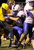 Lone Tree's Brock Smith (#10) and Danville's Grant Samples (#6)