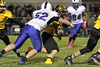 Danville's J.D. Stirn (#52) and Lone Tree's Jared Hudson (#30)