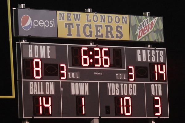 Danville and New London score