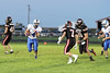 Danville's Noah Foster (#4) and Pekin's Scott Entsminger (#48), Christian Wittrock (#7) and Tanner Adam (#31)