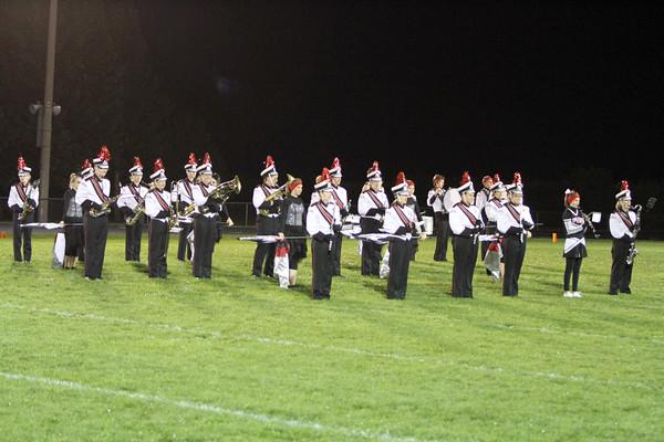 The Pekin marching band