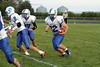 Danville's Mason Lorber (#8), Austin Heston (#87) and Nick Fencl (#12)