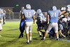 Danville's Gage Jarrett (#75) and Waco's Jorge Chacon (#13), Jason Sammons (#52) and Cody Crawford (#71)