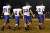 Danville's Gage Jarrett (#75), Grant Samples (#6), J.D. Stirn (#52) and Mason Lorber (#8)