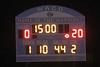 halftime score
