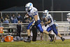 Danville's Gage Jarrett (#75) and Grant Samples (#6)