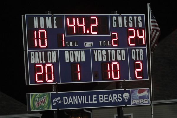 Danville scores a touchdown